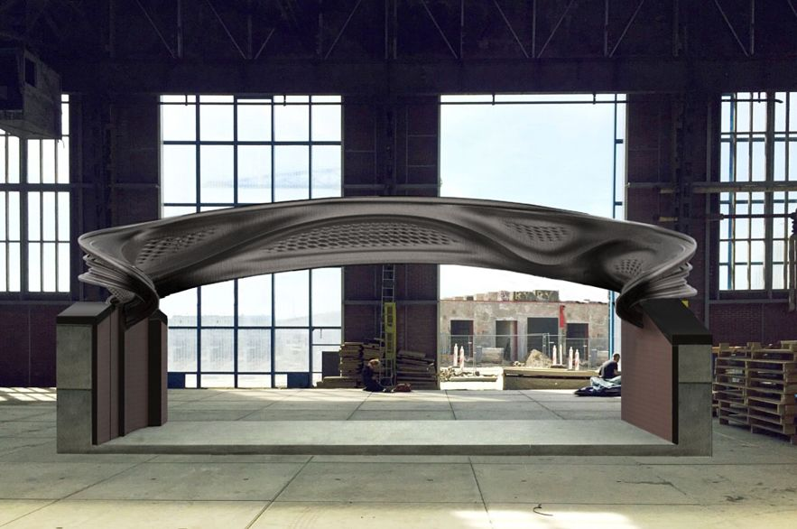 3D printed footbridge to be installed in Amsterdam in 2018