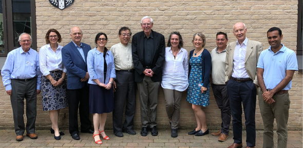 Picture of IAG at 2019 meeting