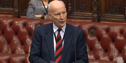 Professor Lord Robert Mair speaks at the House of Lords on attracting and retaining talent in a post-referendum UK