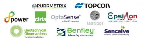 Logos of our technology and information support partners