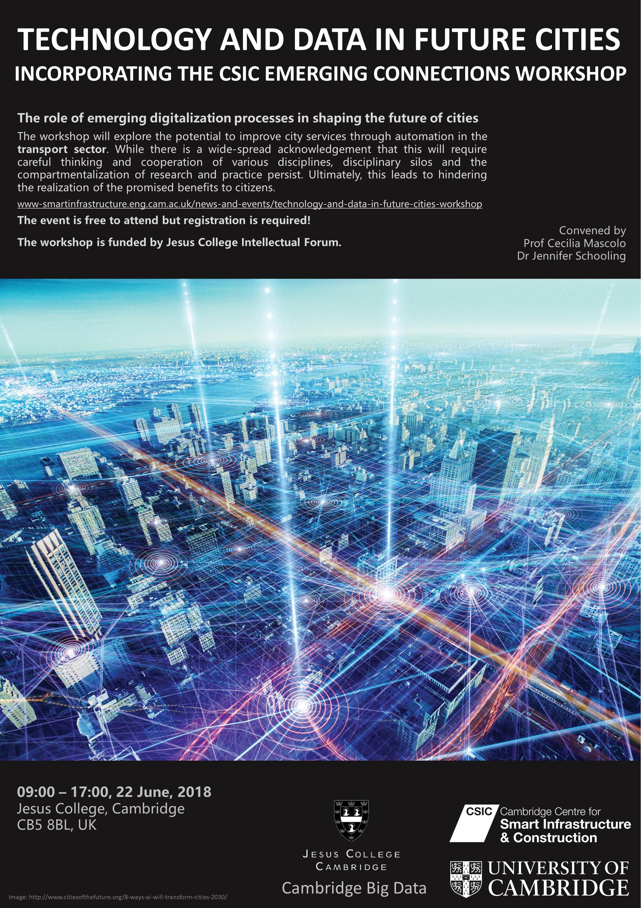 Technology and Data in Future Cities workshop poster FINAL