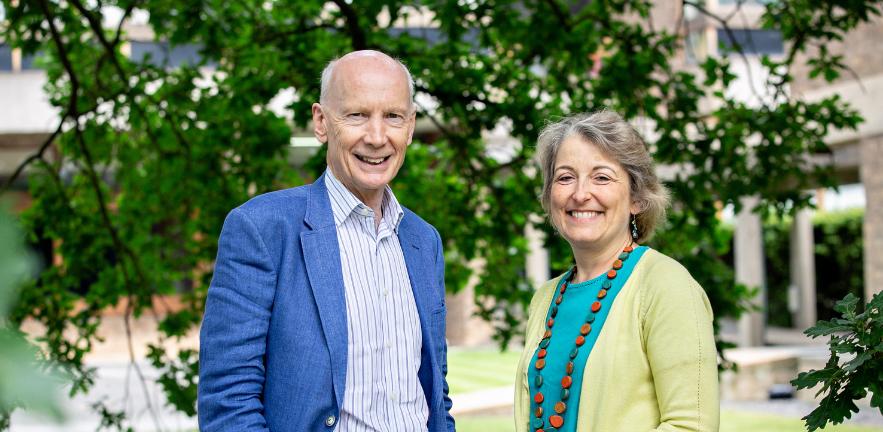 Robert Mair and Jennifer Schooling