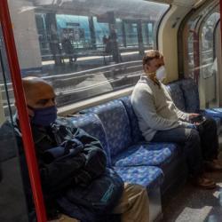 London Underground covid 19 large