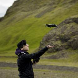 Didem Gurdur drone flying