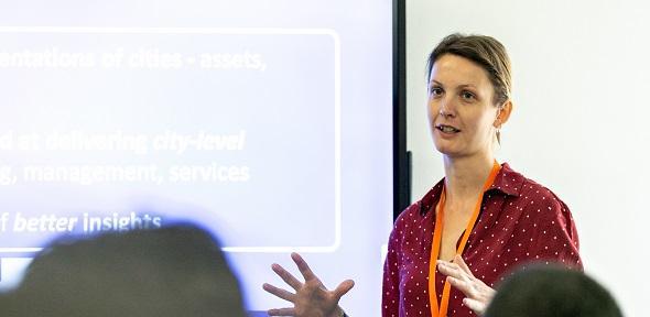 CSIC Research Associate Timea Nochta at ICSIC 2019