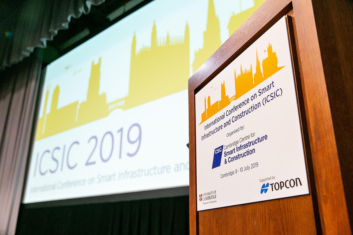 ICSIC 2019 Wolfson Hall