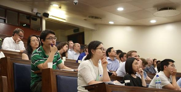 Distinguished Lecture 2017 audience