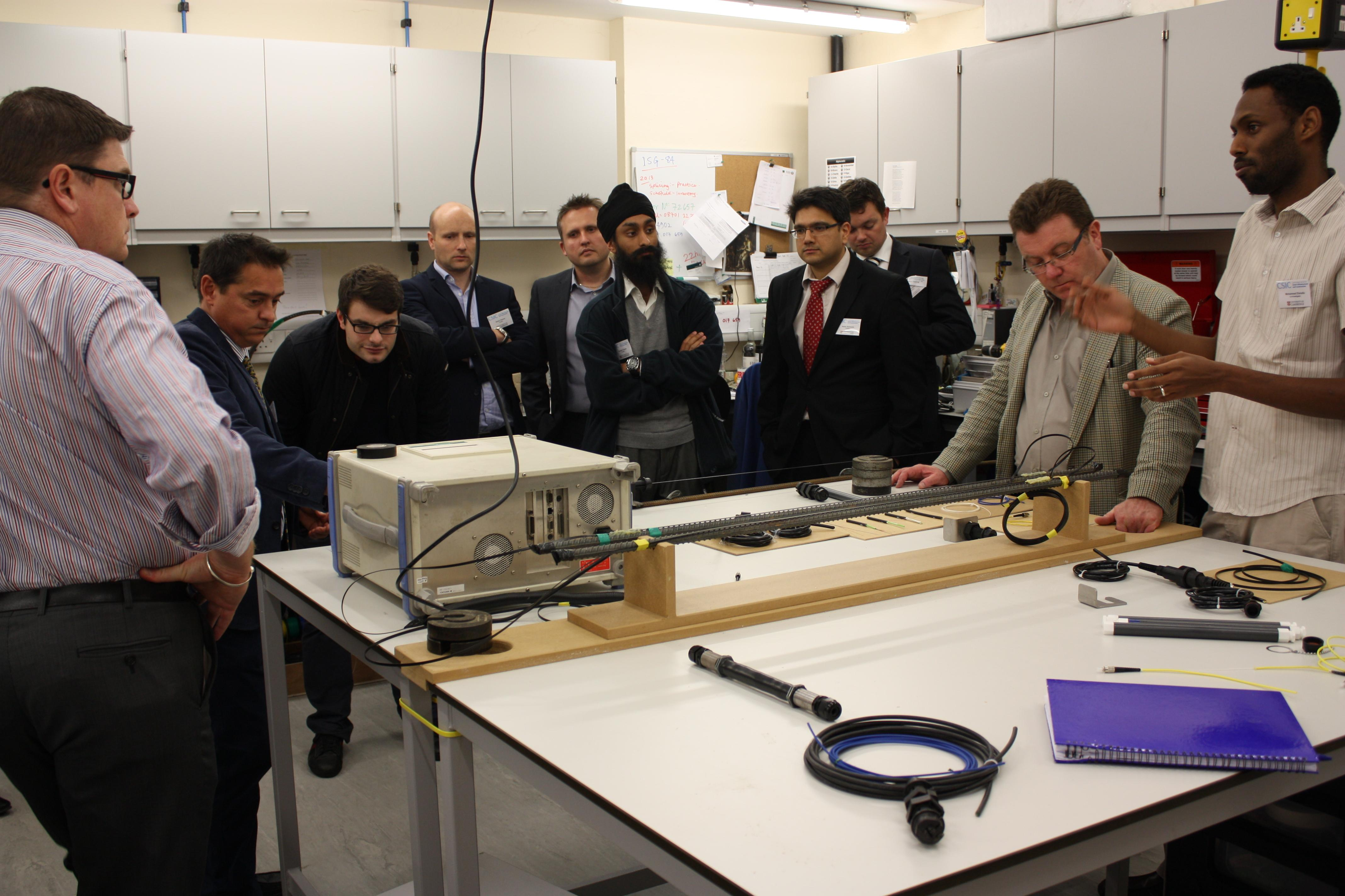 CSIC delivers unique course on distributed fibre optic sensing technology