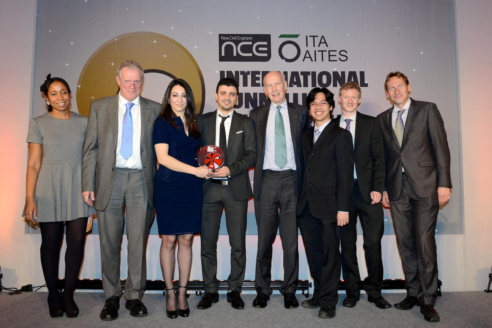 CSIC wins industry recognition at International Tunnelling Awards