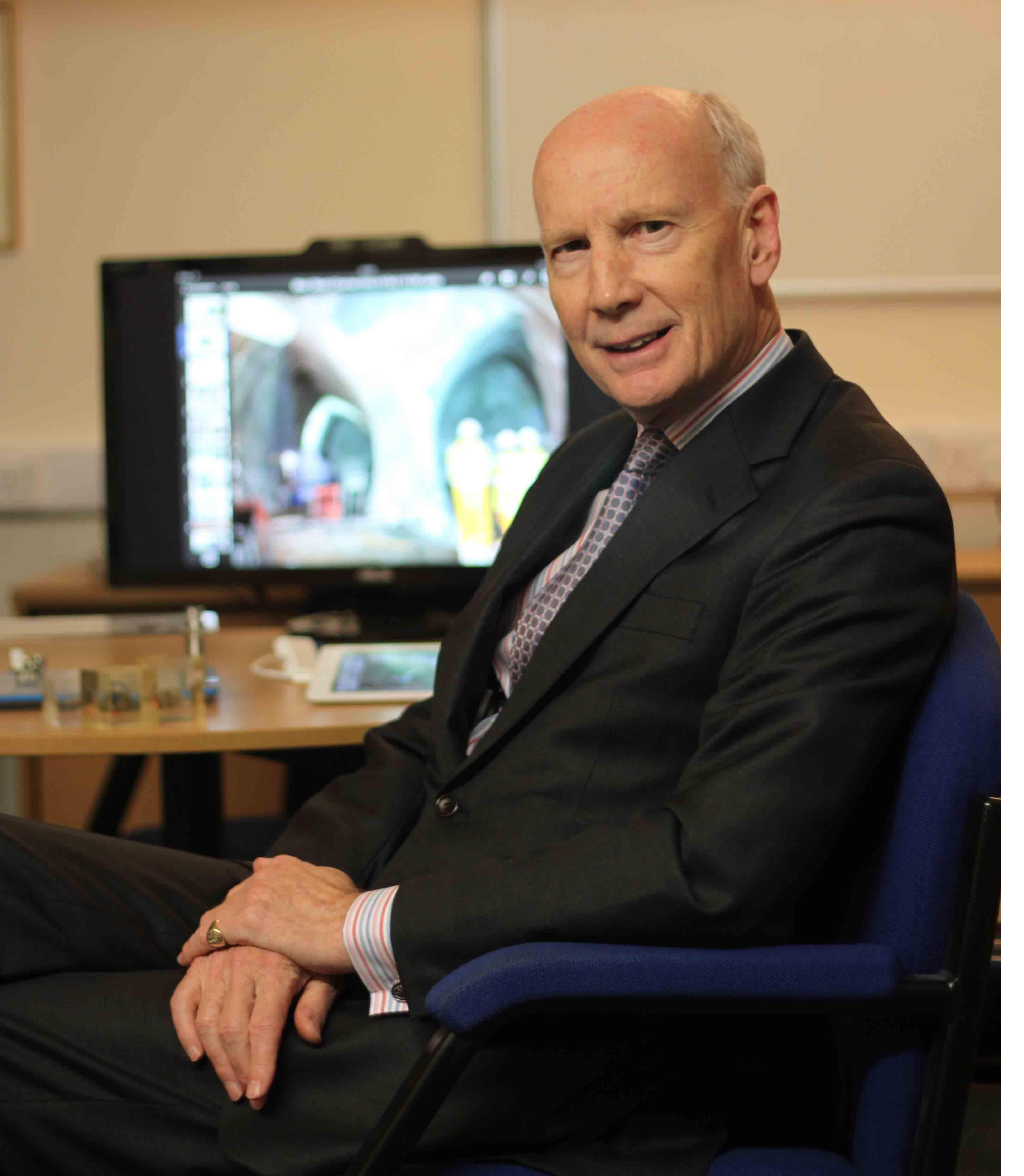 CSIC Head backs tunnelling as antidote to Cambridge congestion