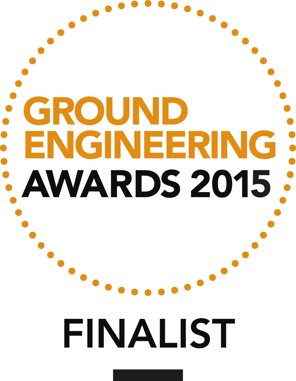 Six nominations for Ground Engineering Awards 2015
