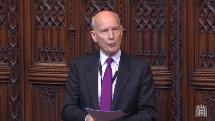 Professor Lord Mair's Maiden Speech at the House of Lords