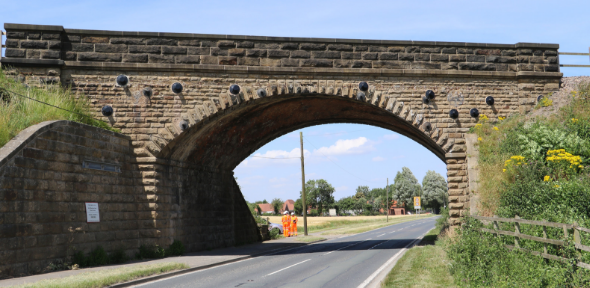 Skewed bridge image
